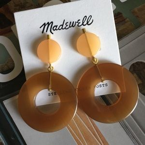 madewell | circle statement earrings